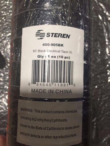 Steren 400-905 PVC insulating Tape 10pkg
