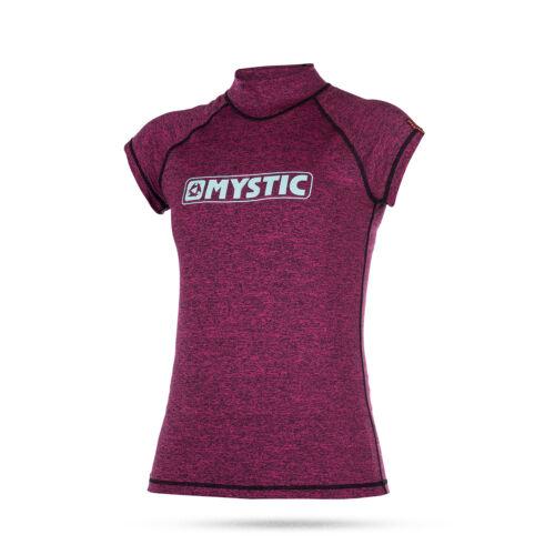 Mystic Frauen Stern Short Sleeve Rash Vest 2017 Pink