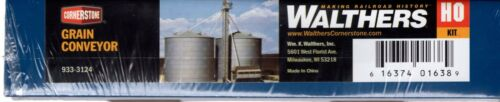 HO Scale Walthers Cornerstone 933-3124 Grain Conveyor Kit