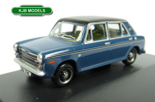 BNIB OO GAUGE OXFORD DIECAST 1:76 76AUS005 AUSTIN 1300 TEAL BLUE CAR