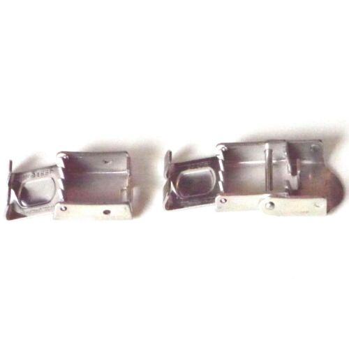 kürzbar mittel braun Armband PU Verschluss Edelstahl A8