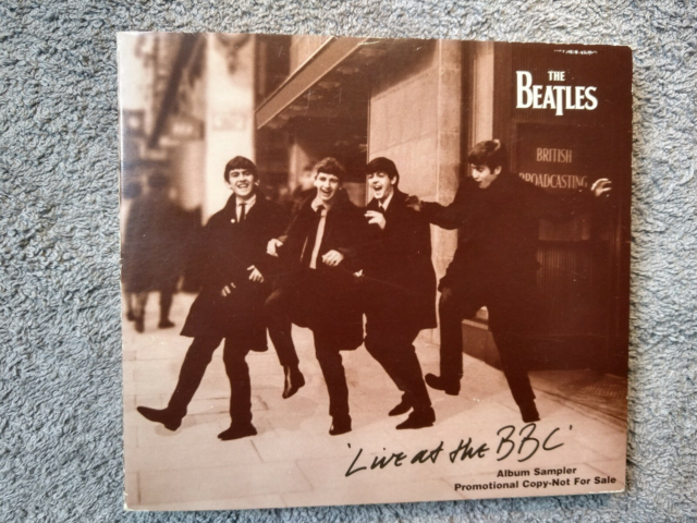 Beatles: Live at the BBC , rock, 9 numre promotion