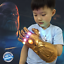 End-Game-Thanos-Gauntlet-Glove-Cosplay-The-Avenger-Infinity-War-Hand-LED-Props miniature 1