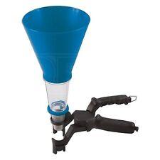 Universal Oil Funnel Set - Laser 6198 - 2 Parts with Clamp - Transparent Neck