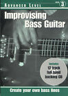 Improvising Bass Guitar: Advanced Level by Registry Publications Ltd (Mixed media product, 1998)