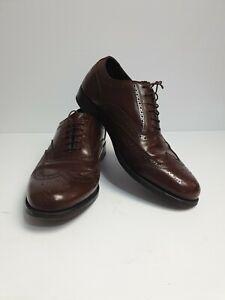 Florsheim-Lexington-Oxford-Wingtip-Dress-Formal-Shoes-Men-039-s-Size-US-8