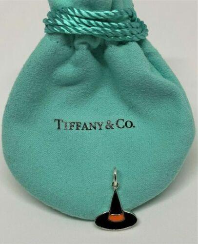 Tiffany&Co. Sterling Silver 925 Enamel Witch Hat H