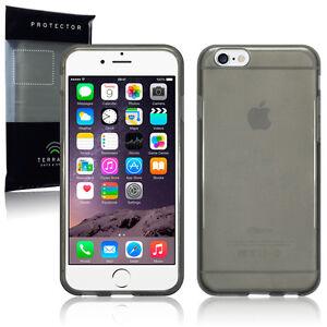 Apple-iPhone-6-amp-6S-Cyber-Case-Impact-Resistant-Silicone-Flex-Gel-Smoke-Black