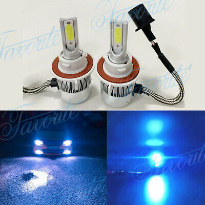 9008 H13 8000K Ice Blue 8000LM Led Headlight Bulbs Kit High Low Beam Led Lights