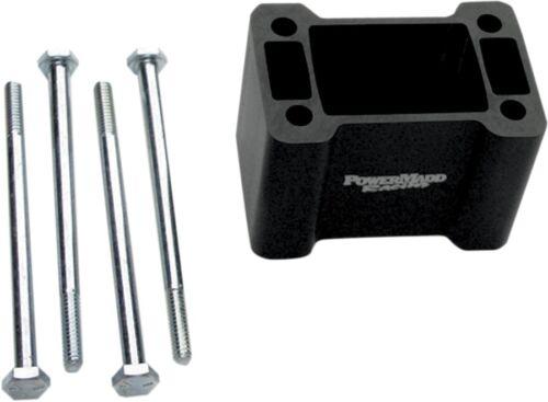 45519 PowerMadd Non-Pivot Flat Post Riser Bar Black 4in