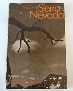 Softcover-Book-History-of-the-Sierra-Nevada-Francis-Farquhar-1969-Univ-CA-Press