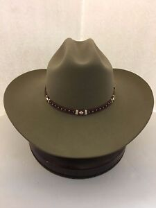 Stetson Cowboy Hat 6X Beaver Fur Fawn Monterey T- With Free Hat ... 022dd7198bb