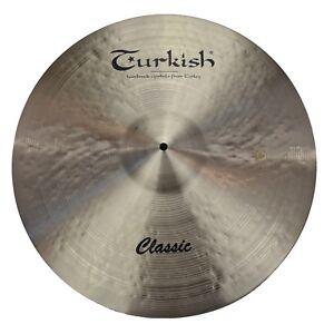 TURKISH-CYMBALS-Becken-22-034-Ride-Classic-Series-bekken-cymbale-cymbal