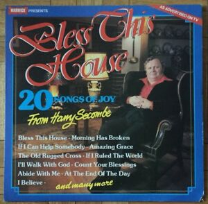 Harry-Secombe-Bless-This-House-LP-Record-Vinyl-Warwick-Records-WW5052-1978