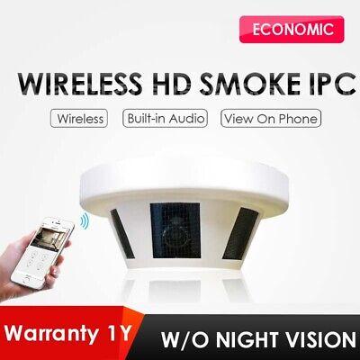 Hd Sdi Cctv Smoke Detector Hidden Security Camera 1080p With Audio