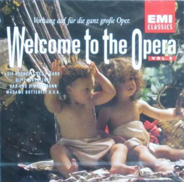 Diverse Interpreten - Welcome To The Opera- Vol. 2  (Audio-CD)