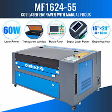 Omtech 60w 24x16in 60x40cm Bed Co2 Laser Engraver Egravering Cutter Machine