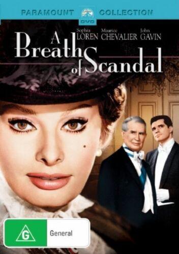 1 of 1 - A Breath Of Scandal (DVD, 2007) Sophia Loren, Maurice Chevalier, John Gavin