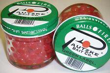 PAUTZKE BAIT CO. BALLS O' FIRE GREEN LABEL SALMON EGGS 2 PACK FISHING BAIT RED