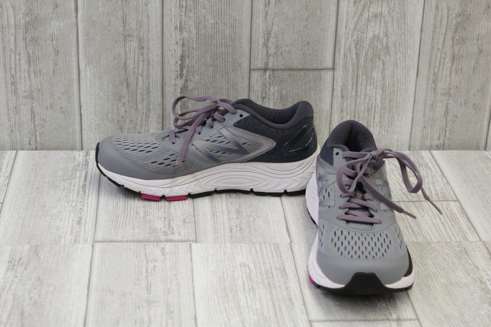 New balance 840v4 Zapatillas Para Correr-Para Mujer B-gris Azul marino púrpura