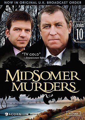 Midsomer Murders, Series 10, New DVD, Jason Hughes, John Nettles, Renny Rye, Ric
