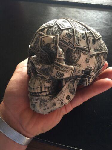 Skull $100 Dollar Bills Y'all