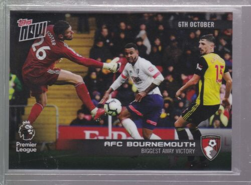 2018-19 Topps Premier League 24 AFC Bournemouth NOW más grande lejos Victory pr 75