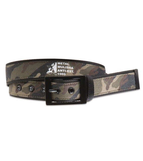 METAL MULISHA -TANGO DOWN- NYLON/COTTON CAMO BELT