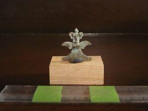 AA-Pre-Columbian-Gold-Copper-C-A-Zo-Tumbaga-Eagle-Necklace-Pendant-Bead