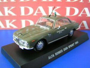 Die-cast-1-43-Modellino-Auto-Polizia-Police-Alfa-Romeo-2600-Sprint-1964