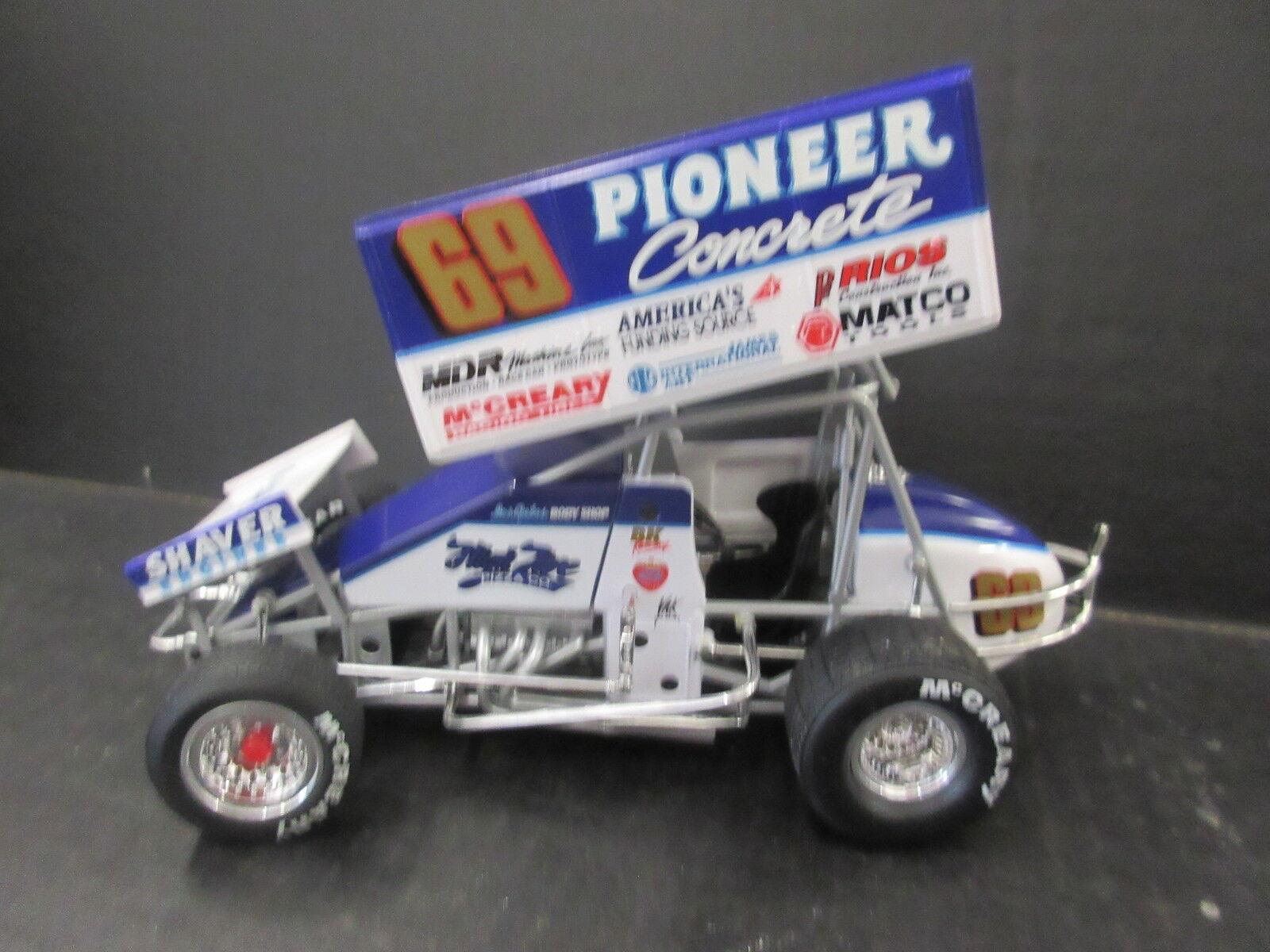 1997 GMP Brent Kaeding  69 1 18th échelle Sprint Voiture