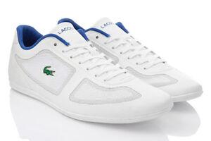 Exclusivie Hommes De Cuir Baskets Chaussures Original Pour Tennis Misano En Lacoste Evo 117 w8RU0nvq