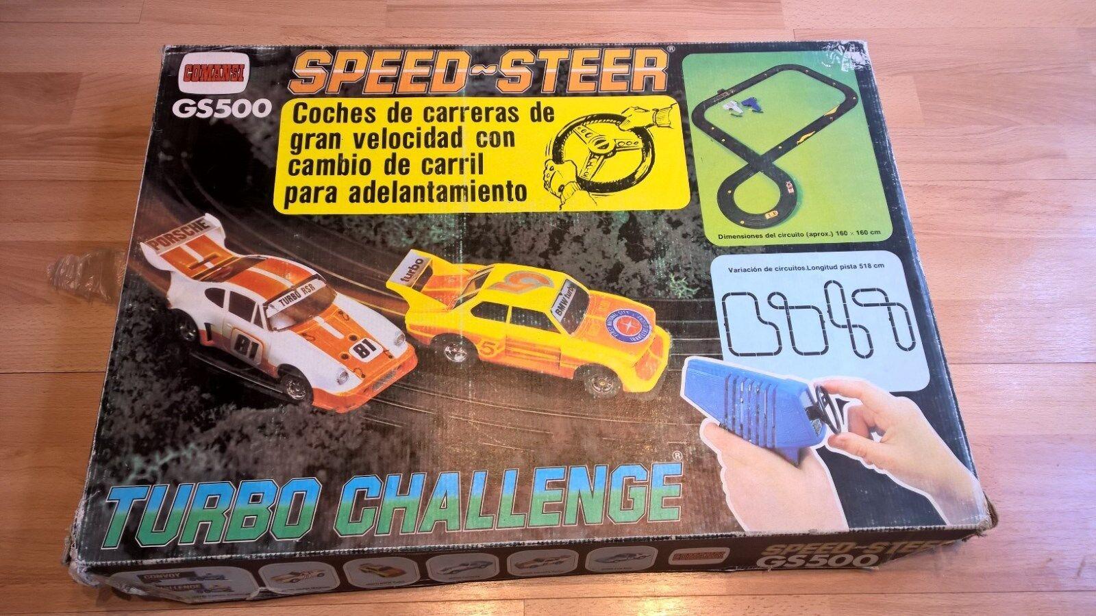Comansi AFX GS500 Speedsteer Turbo Challenge Set New in Box RARE (Seal Broken)