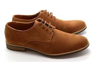 Nouveau Hommes Smart À Lacets À Enfiler Couture et Talon Plat Causal//Formel Chaussures Taille UK 6-11