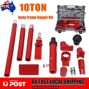 10 Ton Air Manual Hydraulic Bottle Jack Heavy Car Truck Lift Heavy Duty Steel 736691289980 Ebay