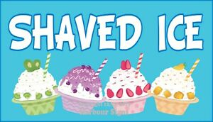 Choose-Your-Size-Shaved-Ice-DECAL-Food-Truck-Vinyl-Sign-Concession