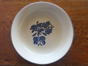 Vintage-Pfaltzgraff-Yorktowne-Stoneware-Vegetable-Serving-Bowl-8-3-4-034-Blue
