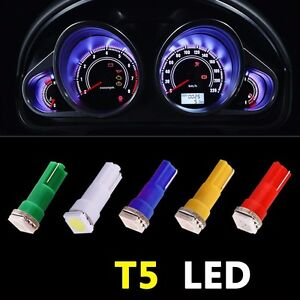 100x-T5-1SMD-Car-LED-Wedge-Instrument-Gauge-Cluster-Light-Dashboard-Bulb-Lamp