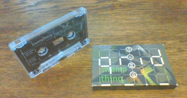 The Grid  Swamp thing Cassette Tape Single Card 1994 (Used)