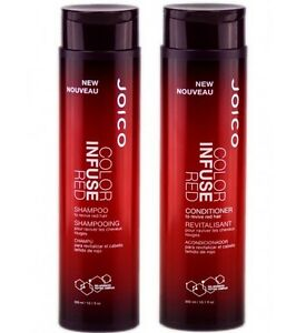 Details about Joico Color Infuse Red Shampoo And Conditioner 2 x 300ml