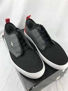 creative recreation lacava black charcoal red shoes men s fashion