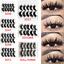 UK-5-Pairs-3D-Fake-Eyelashes-Long-Thick-Natural-False-Eye-Lashes-Set-Mink-Makeup 縮圖 1