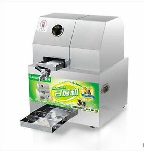 New Dual Power Juicer Battery Juicer Desktop Sugar Cane Machine Electric Sugar Restaurant & Food Service