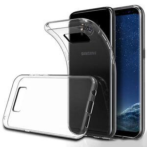 ULTRA-SLIM-Case-fuer-Samsung-Galaxy-S8-Silikon-Huelle-Schutzhuelle-TPU-Transparent