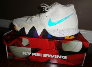 d513bde8fc5ca Details about Nike Kyrie 4 Shoes NCAA March Madness White Multi 943806-104  Men's Size 8.5