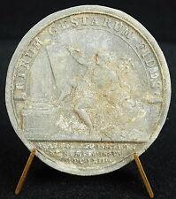 Médaille Louis XIV 1663 Dieu Mercure écrivant medal