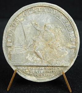 Medal-Louis-XIV-1663-God-Mercury-Pen-Handwriting-Aid-Medal