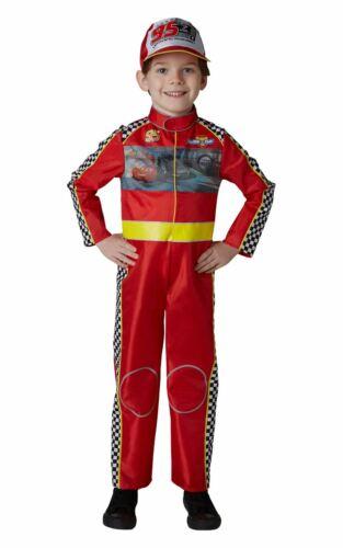 Racing McQueen Cars Garçons Deluxe Costume Robe Fantaisie