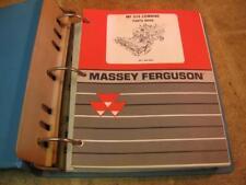Massey Ferguson 510 Combine Parts Catalog Book Manual