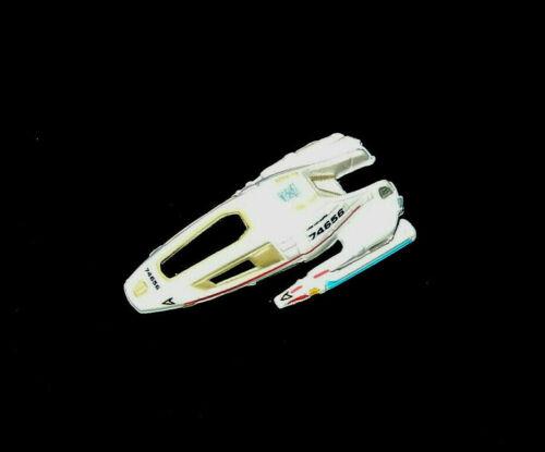 Galoob spaceship lot STAR TREK Micro Machines USS VOYAGER SHUTTLECRAFT 74656